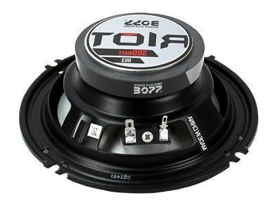 "BOSS AUDIO R63 Riot 6.5/"" 3-way 300-watt Full Range Speakers 300.. Free Shipping"