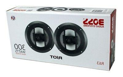 "Boss R63 6.5"" 600W Car Speakers Stereo"