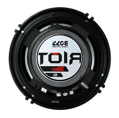 "Boss Audio R63 6.5"" 600W 3 Way Car Coaxial Stereo Ohm"