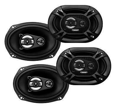 "4) Soundstorm SSL EX369 6x9"" 3-Way 300 Watt Car Audio Stereo"
