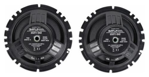 """SXE-1750S Watt 6.5"""" Component Car"""