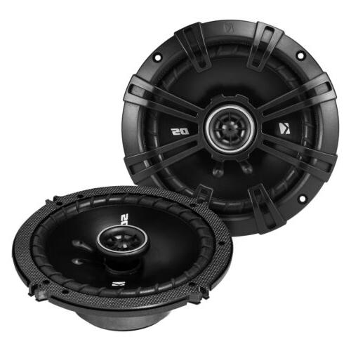 4 x Kicker 41DSC654 2-Way 4-Ohm Coaxial