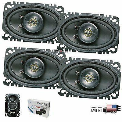 4x kfc 4675c 4x6 car audio ppta
