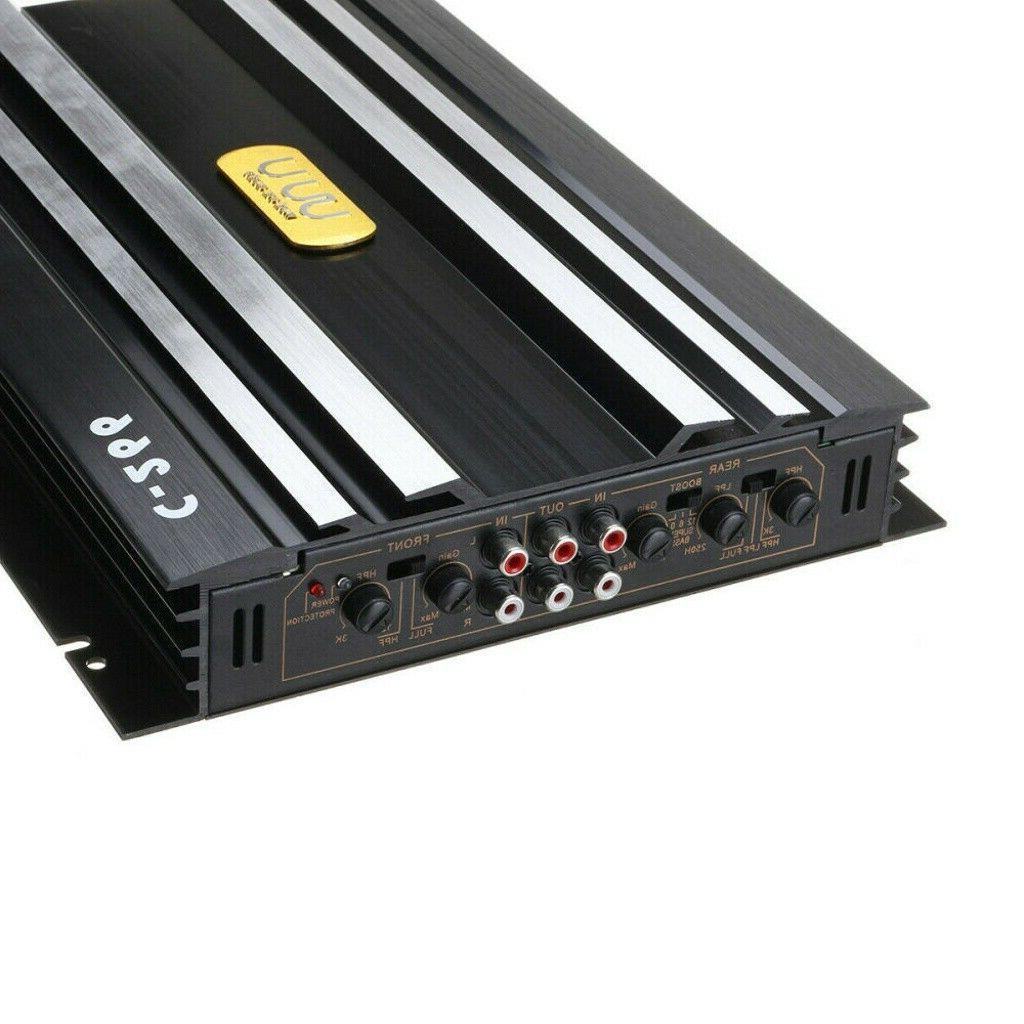 5800W Watt Car Amplifier Audio Speaker Device