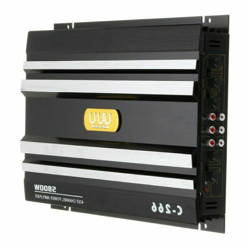 5800W Channel Car Truck Amplifier Audio Speaker Device