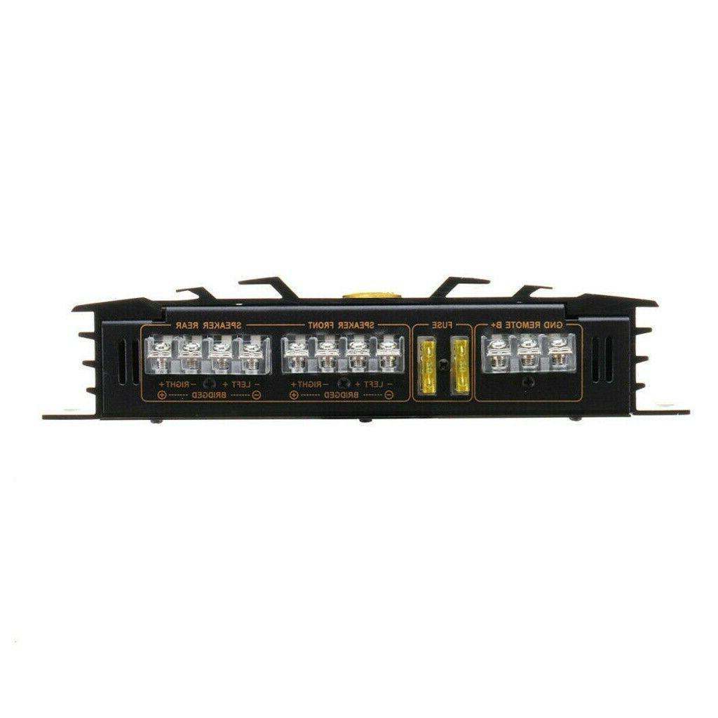 5800W Watt Channel Car Truck Audio Amp Device