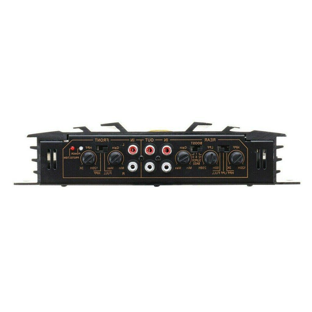 5800W 4 Car Truck Amplifier Stereo Audio Speaker Device