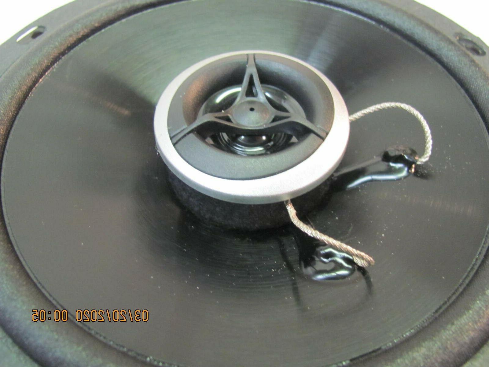 "6.5"" watt coaxial car speakers new."
