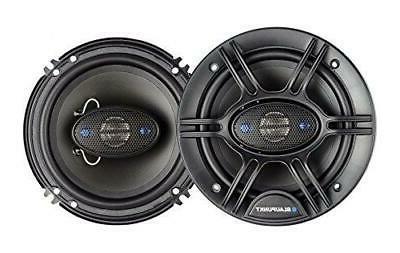 Blaupunkt 6.5-Inch 360W 4-Way Coaxial Car Audio Speaker, Set