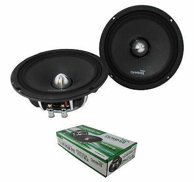 6 5 neodymium bullet speaker pair 300w