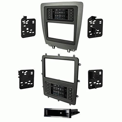 Metra 99-5839CH Charcoal Single/Double DIN Dash Kit for 2010