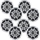 """Wet Sounds Bundle: 4 pair XS 650 Series Silver Grill 6.5"""" Sp"""