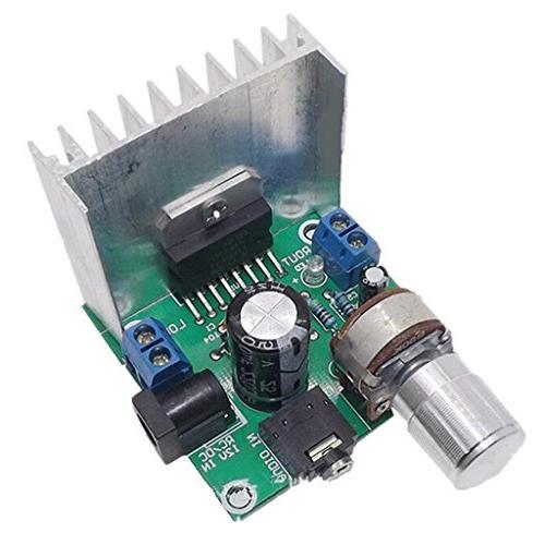 ac dc tda7297 audio amplifier