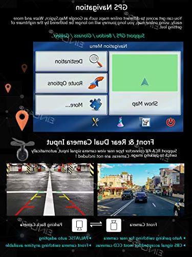 EinCar Octa 7 Car Audio Double Din Car in Dash GPS 32GB ROM 2GB WiFi RDS Video