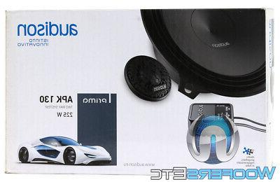 AUDISON APK130 CAR AUDIO COMPONENT TWEETERS CROSSOVERS NEW