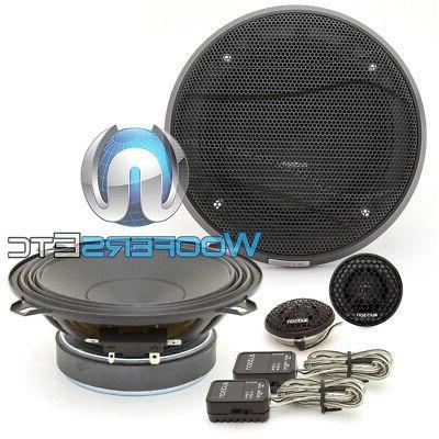 apk130 5 225w car audio component speakers