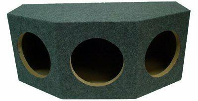 "ASC Triple 10"" Subwoofer 1"" MDF Sealed Universal Fit Rearfir"