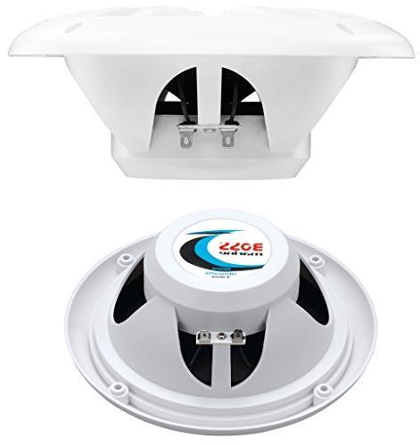 BOSS 500 Channel Amplifier / Speaker Bluetooth Remote, USB Mount, Waterproof