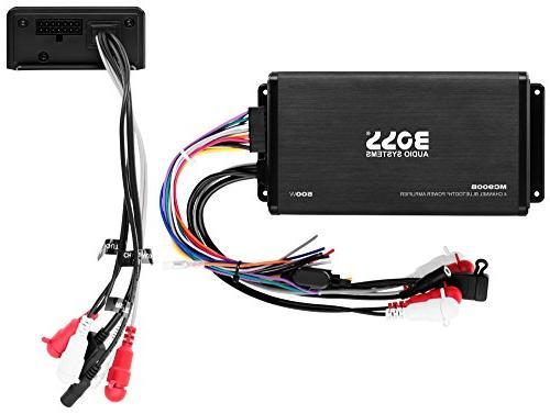 BOSS Audio 500 Amplifier / Speaker Bluetooth Remote, USB Interface Mount, Waterproof