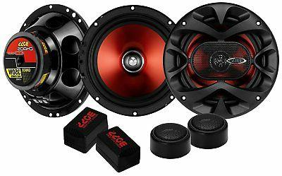 BOSS Audio CH6CK 350 Watt Per Pair, Component Car Speakers W