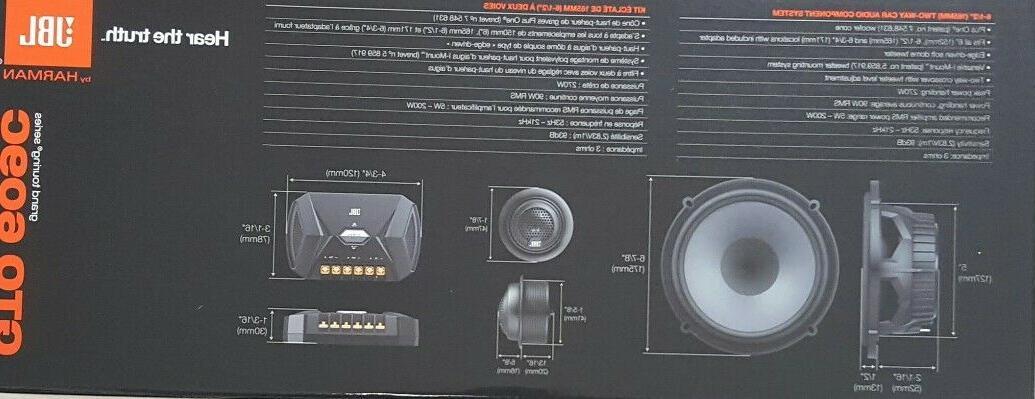 """AUTHENTIC Car Speaker 6-1/2"""""""