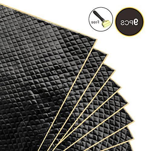 black car sound deadening mat