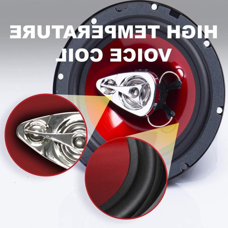 "Boss Exxtreme 6.5"" 3-way Range Speaker Pair Accs"