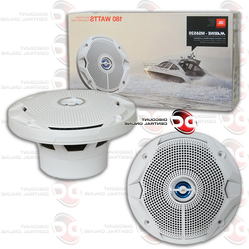 BRAND NEW KENWOOD 6.5-INCH 3-WAY CAR AUDIO COAXIAL SPEAKERS