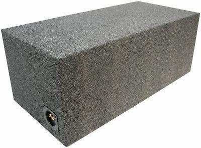Car Audio Dual 10 Inch Ported Subwoofer Stereo Sub Box