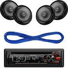 "Kenwood Car CD USB MP3 AUX Stereo Radio, Kenwood 6.5"" Car Sp"