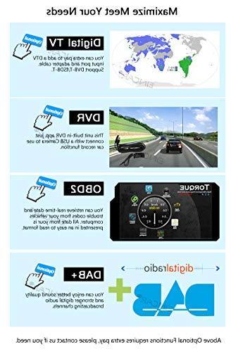 Eincar Multimedia - 7.1 Inch Double 2 DIN Car Audio car No-DVD WiFi 4G FM WiFi, Rear Camera