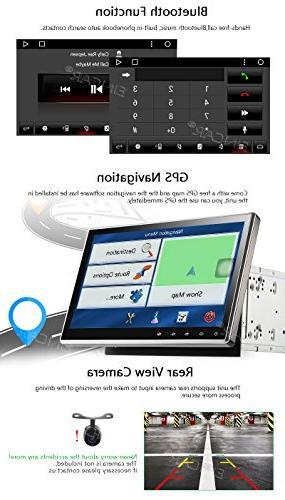 Eincar - Car Radio in Dash Car car Player WiFi WiFi, Camera