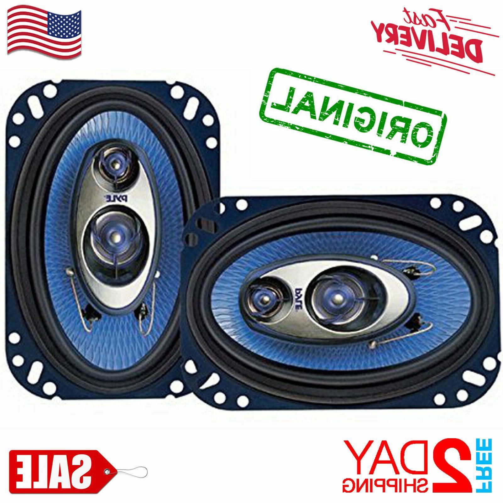 car speakers 4 x 6 240 watt