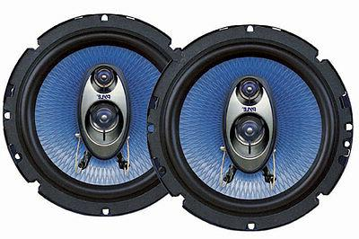 Car Speakers 6.5 Inches 360 Watt 3-Way Full Range Loud Auto