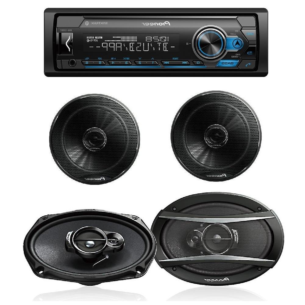 car stereo digital media receiver with bluetooth