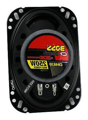 "Boss 6.5"" Speakers & CH4630 4""x 6"" Car"