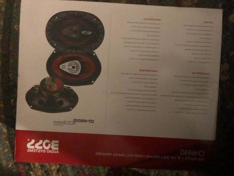 BOSS Car Speakers - 400 Watts of Pair ,Each