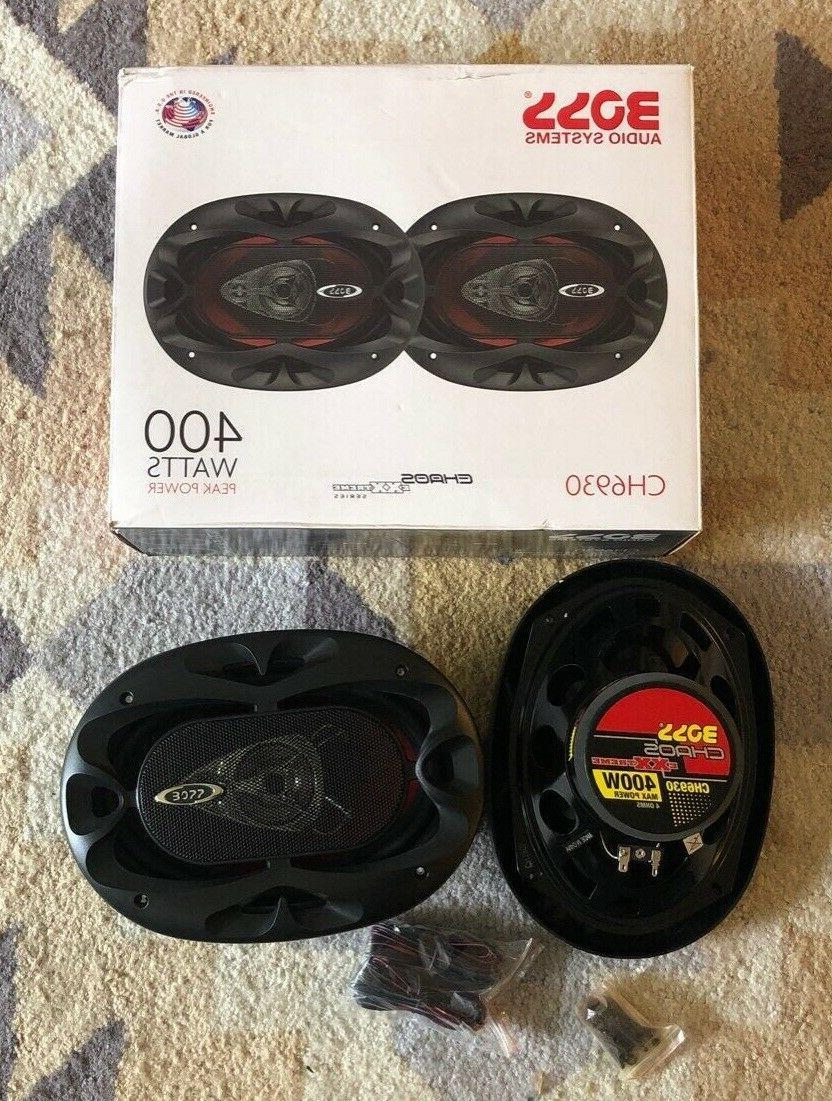 ch6930 car speakers 400 watts of power