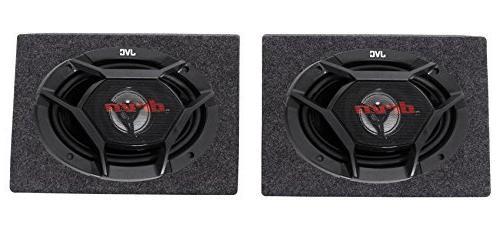 """New JVC CS-DR6930 6""""X9"""" 3-Way 1000 Watt Car Stereo Speakers"""