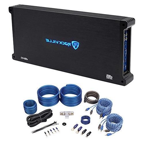 Rockville dB45 3200 Watt/1600w RMS 4 Channel Car Stereo Ampl