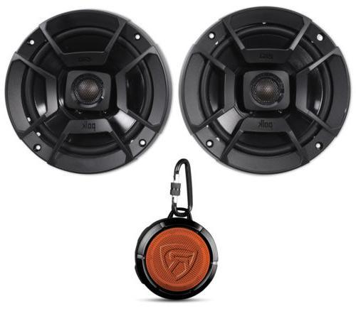 """Polk Audio DB652 6.5"""" 300w Car/Marine/Motorcycle Speakers+S"""