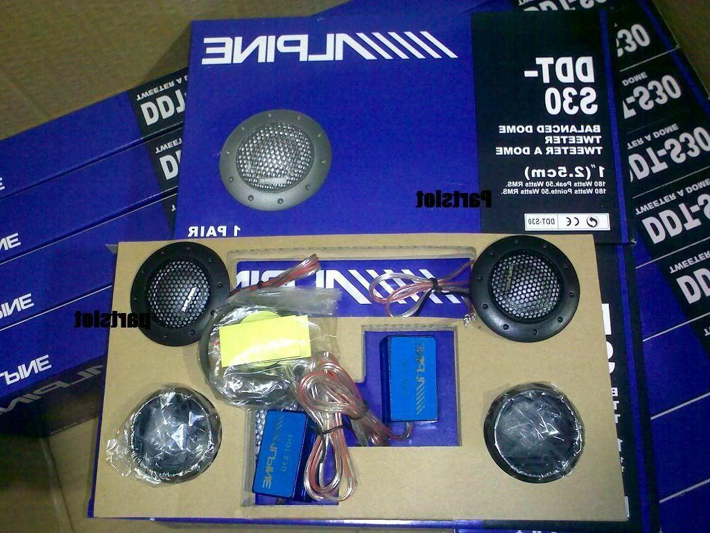 ALPINE DDT-S30 Speakers Music Balanced Car 360W