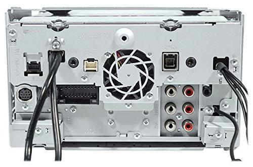"""Kenwood 6.95"""" DVD Bluetooth Receiver+Kicker Speakers"""