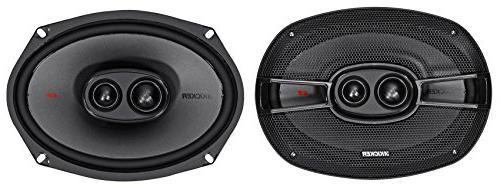 "Kenwood DNX875S DVD Bluetooth Receiver+Kicker 6x9+6.5"" Speakers"