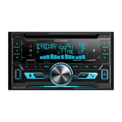 Kenwood DPX502BT Double-Din CD Receiver with USB Interface &