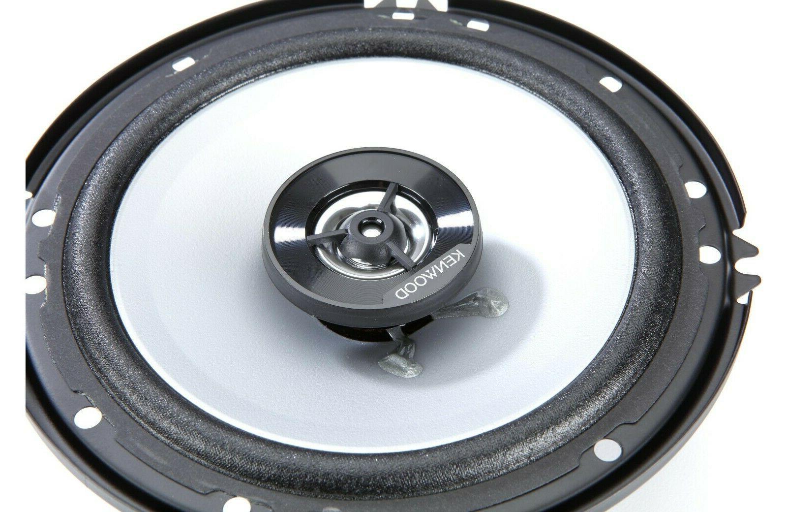 """Kenwood Car Speakers 6-1/2"""""""