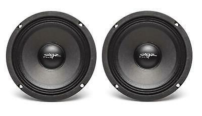 AUDIO FSX65-4 300W CAR PRO AUDIO SPEAKERS PAIR