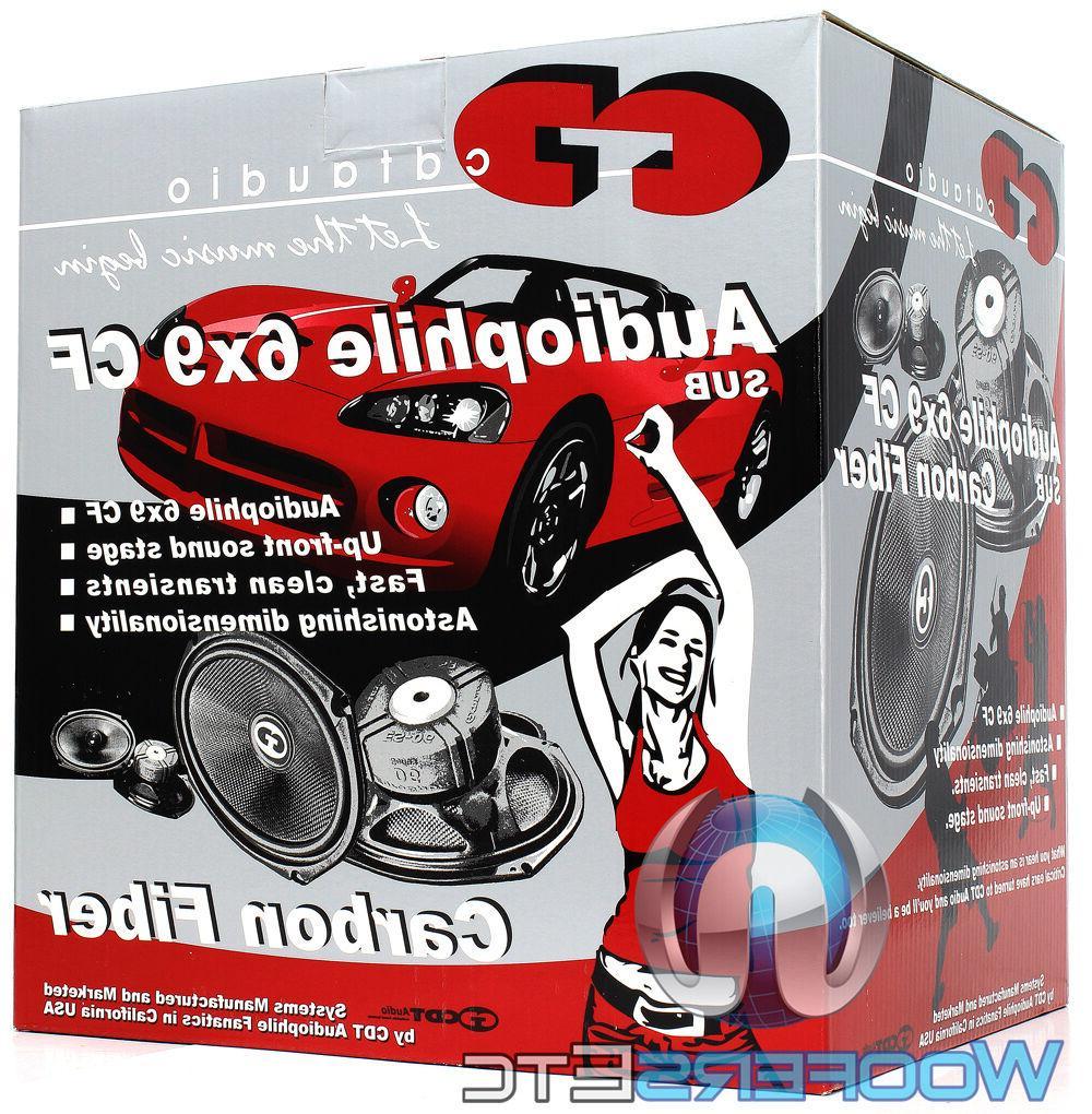 CDT AUDIO HD-690CFX.2 200W 2-OHM FIBER COAXIAL NEW