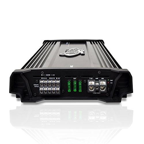 Lanzar Amplifier 3,000 2 Ohm, Ohm, MOSFET, RCA Bass Mobile Audio, Car