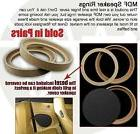 """8"""" INCH MDF WOOD SPEAKER SUBWOOFER MOUNTING SPACER RINGS RE"""